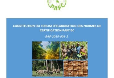 THE FORUM FOR THE DEVELOPMENT OF PAFC CONGO BASIN CERTIFICATION STANDARDS