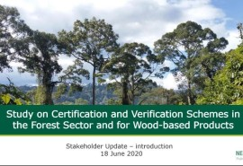 The ATIBT certification commission is involved in the study on forest certification systems requested by the European Union.