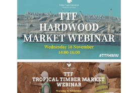 Timber Trade Federation Webinars on Tropical Timber and Hardwood Markets