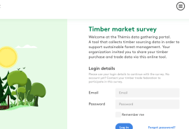 Presentation and launch of the Themis portal: a tool for monitoring responsible wood trade